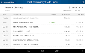 Maps Credit Union Salem Oregon by First Community Credit Union Android Apps On Google Play