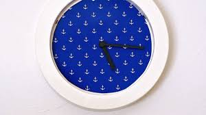 cool wall clock make a cool designer wall clock home guidecentral youtube