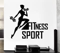 Gym Wall Murals Compare Prices On Gym Decals For Walls Online Shopping Buy Low