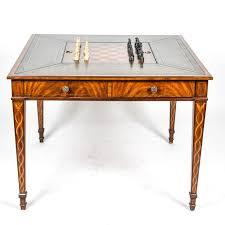 maitland smith game table maitland smith mahogany game table ebth