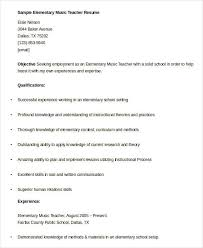 resume format exles for teachers music teacher resume template brianhans me