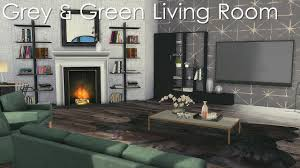 sims 4 room build grey green living room cc links youtube sims 4 room build grey green living room cc links