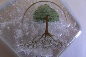 cremation tree cremation glass sun catcher tree of memorial sympathy
