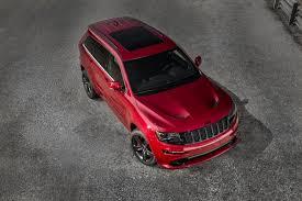 jeep grand cherokee red interior 2015 jeep grand cherokee srt is no hellcat autoevolution