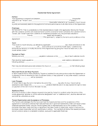 Written Notice Of Lease Termination by 5 Downloadable Residential Lease Agreement Ledger Paper