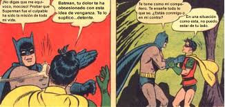 Memes De Batman Y Robin - origen de la cachetada de batman a robin comics e historietas