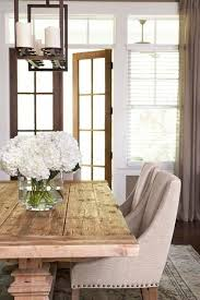 Farmhouse Dining Room Tables Best 25 Rustic Dining Room Tables Ideas On Pinterest Farm Style