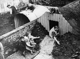 underground shelter designs how families lived in their wwii backyard bomb bunkers