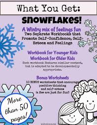 snowflakes self esteem and self confidence a wintry mix of