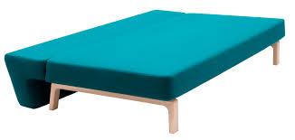 canap design nordique canapé lit design scandinave en tissu 2 places nordic lazy