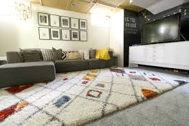bringing color into the playroom with a new rug cassie bustamante