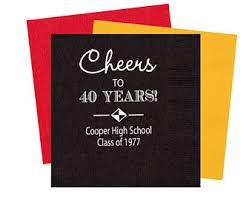 high school reunion souvenirs class reunion etsy
