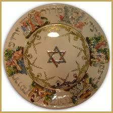 the passover plate ivantiques antiques collectibles capodimonte seder plate