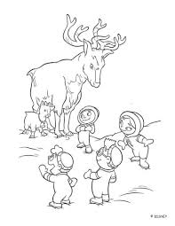 deer and little einsteins coloring pages hellokids com