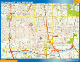 Map Of Downtown Orlando by Usa Downtown Wall Maps Of The World Part 3