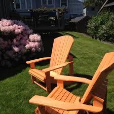 Outdoor Furniture Teak Sale by Furniture Teak Wood Outdoor Adirondack Chair In The Backyard