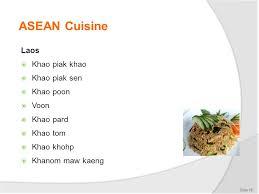 sen cuisine select prepare and serve special cuisines ppt