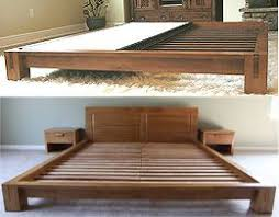 Make Wood Platform Bed by Best 25 Log Bed Frame Ideas On Pinterest Log Bed Timber Bed