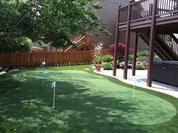 little bit funky how to make a backyard putting green diy image