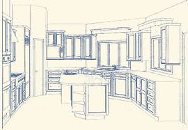 Kitchen Design Drawings Interior Design Kitchen Drawings