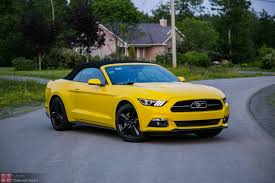 review of 2015 ford mustang 2015 ford mustang ecoboost convertible review no respect