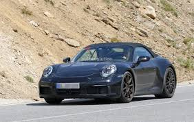 Porsche 911 Evolution - spyshots 2019 porsche 911 shows muffler design hints at new