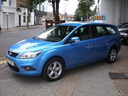 used ford focus tdci used ford focus 2010 diesel 1 6 tdci zetec 5dr estate blue with