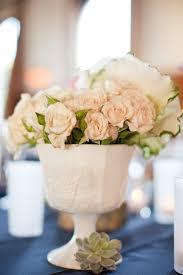 Pink Milk Glass Vase Light Pink Flowers In Milk Glass Vase Elizabeth Anne Designs