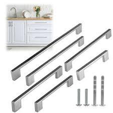 modern kitchen cabinet pull handles details about modern rectangular brushed nickel kitchen door cabinet pull handles hardware