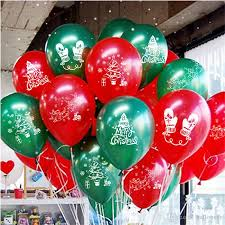 inflated balloon delivery 10 inch balloon christmas decoration stage set ornament santa
