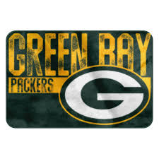 green bay packers memory foam rug at the packers pro shop