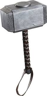 help your little demigod channel the might of mjolnir with this