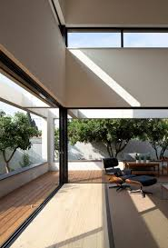 modern house fabulous opened living room design inside