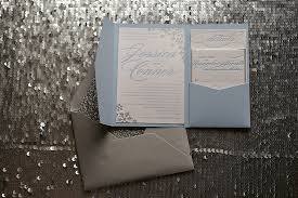 snowflake wedding invitations real wedding and custom snowflake sparkly