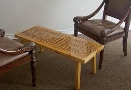 cribbage table cribbage board game room furniture