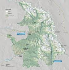 Sequoia National Park Map 3d Terrain Maps Camera Pitch