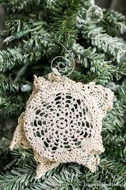 doily ornament