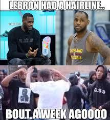 Lebron Hairline Meme - 9 best memes of lebron james having hair problems sportige