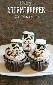 easy stormtrooper cupcakes