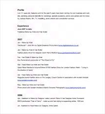 sample hair stylist cv template 6 free documents download in
