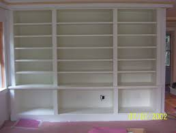 Large White Bookcases by Custom Made Painted Built In Bookcase By Brenda Hall Wood Design