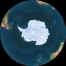 Daylight World Map by Views Of Antarctica