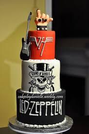 imagenes feliz cumpleaños rockero tortas al mejor estilo rock n roll todo bonito