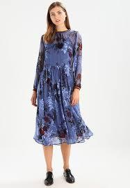 by simonsen by simonsen paint dress summer dress blue zalando co uk