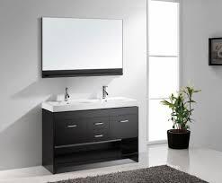 Double Trough Sink Bathroom Bathrooms Design Virtu Usa Md Es Gloria Inch Double Sink