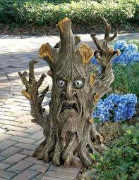 lord of the rings garden tree statues one more gadget