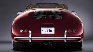 porsche 356 wallpaper stärke revolution speedster turns boxster into modern 356 speedster