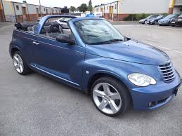 used chrysler pt cruiser convertible for sale motors co uk