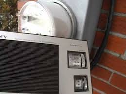 avec radio detection d ondes avec un radio am