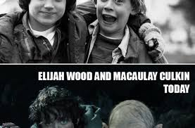 Macaulay Culkin Memes - elijah wood and macaulay culkin funny pictures quotes memes